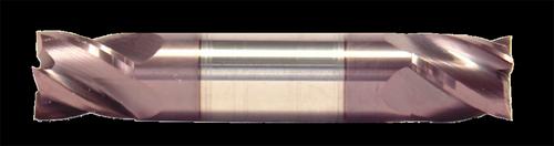 1/8 DIA, 2 Flute, Double End, Stub Length, AlTiN Coated