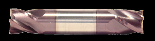 3/4 DIA, 2 Flute, Double End, Stub Length, AlTiN Coated