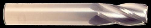 1/64 DIA., 3 FLUTE, 1/16 LOC, UNCOATED CARBIDE ENDMILL