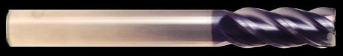 4 Flute, AlTiN Coated, Long Length, HTC Hot Mill | RTJTool.com