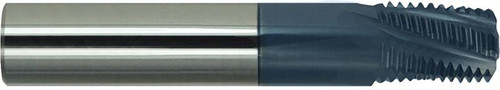 "1/2"" NPT, AlTiN Coated Carbide Thread Mill"