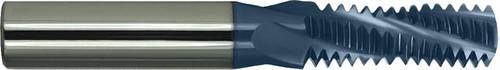 7/16-14 AlTiN Coated, Variable Flute Carbide Thread Mill