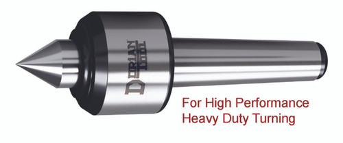 Heavy Duty Live Center | 60º Standard Steel Point