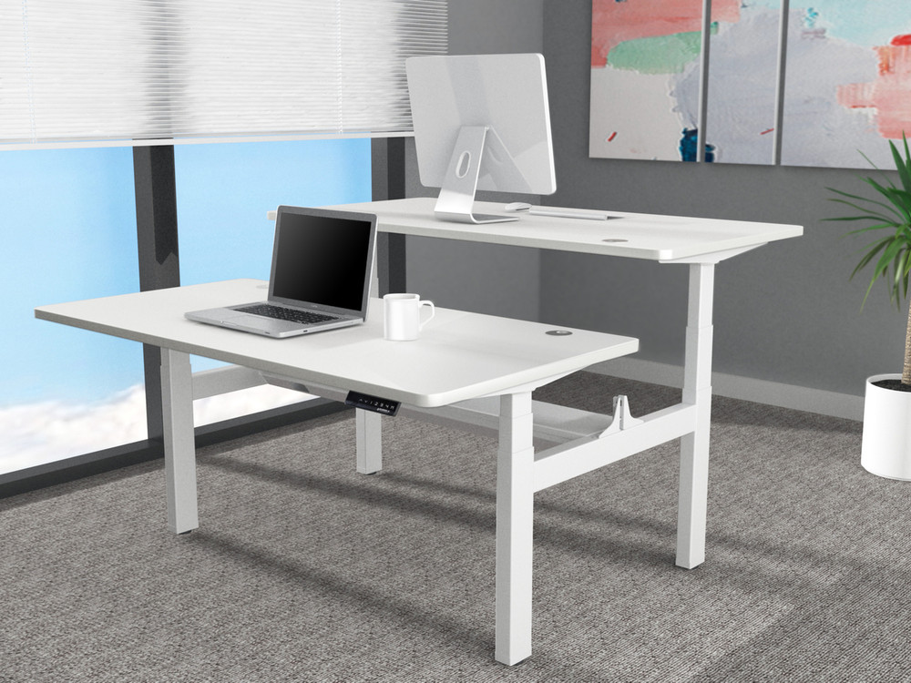 varidesk plus store height pro by adjustable desk from standing blinds