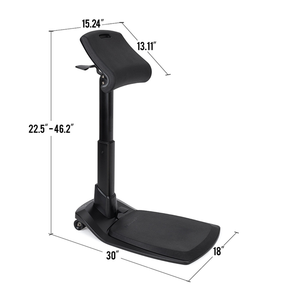 LeanRite™ Elite - Height Adjustable Ergonomic Stool and Perch - 30 Day Risk Free Guarantee - Free Shipping