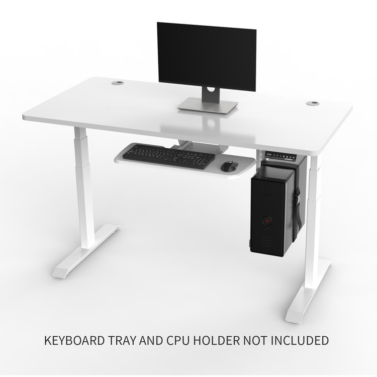 Eureka Ergonomic Standing Desk E60- Electric Height-Adjustable - 30-Day Risk Free Guarantee Plus FREE Shipping ERK-EDK-W