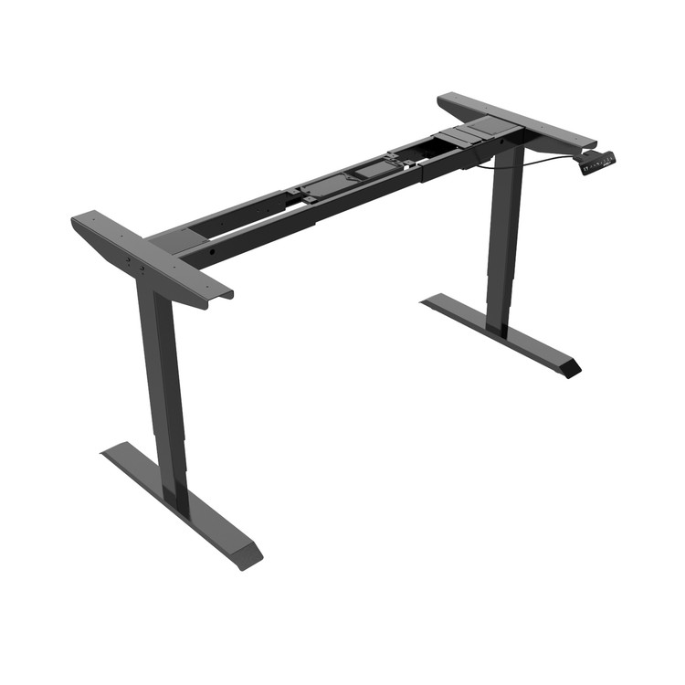 Eureka Ergonomic Height Adjustable Standing Desk-Frame Only - Black - 30 Day Risk Free Guarantee Plus Free Shipping