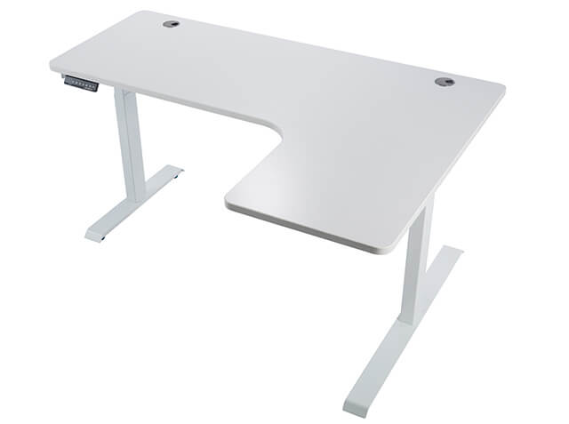 Eureka Ergonomic® Standing Desk E60 - L Shape Desk (Left) Electric Height-Adjustable - 30-Day Risk Free Guarantee Plus FREE Shipping