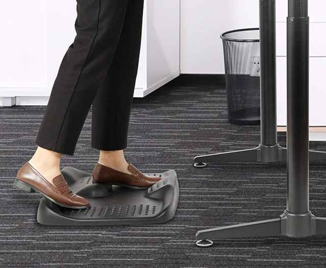Eureka Ergonomic PU Anti-Fatigue Mat, Non-Flat Comfort Foot Mat with Massage Area for Standing Desk, Using in Home, Kitchen, Office