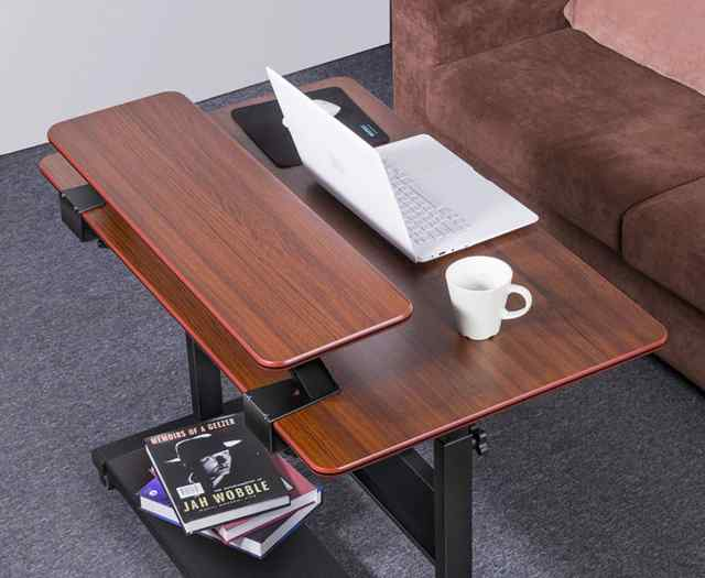 Eureka Ergonomic® Height-Adjustable Desk 40in with Detachable Monitor Riser - 30 Day Risk Free Guarantee Plus FREE Shipping