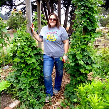 Jessica Gardening