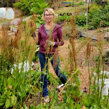 Kristi Gardening