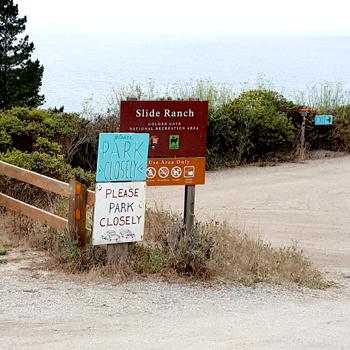 Slide Ranch Sign