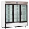 TempLog Premier Laboratory Triple Swing Glass Door Refrigerator 72 Cu. Ft.