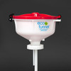 """8"""" ECO Funnel with 70mm 8TPI cap adapter (Rieke FS70)"""
