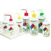 Nalgene 2425-0506 Labeled Wash Bottle, 500mL, Bleach, case/24