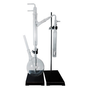 377160 Complete Cyanide Distillation Apparatus Kit, Clear-Seal Joints