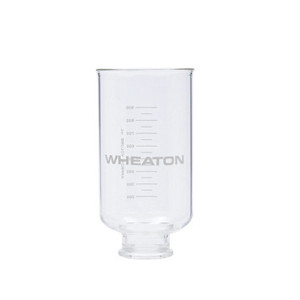 Wheaton 419420 1000mL Glass Funnel, 47mm Vacuum Filtration Assemblies