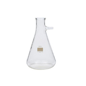 Wheaton 635245 1000mL Glass Flask, Filter, Coated, No 8 Stopper Joint