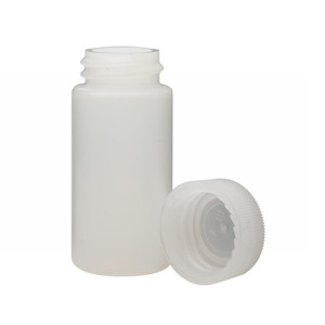 20mL LS Scintillation Vials, HDPE, Natural Cap, Unlined, case/1000