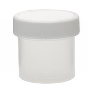 Wheaton W209900 30mL Polypropylene Jar, Unlined Cap, Case/72