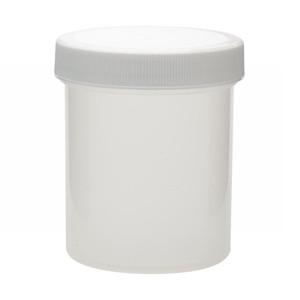 Wheaton 125mL Polypropylene Jar, Unlined Cap, case/36