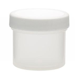 60mL PP Jar, Polyethylene Foam Lined Cap, case/48