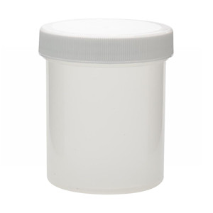 125mL PP Jar, Polyethylene Foam Lined Cap, case/36