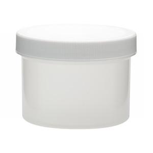 250mL PP Jar, Polyethylene Foam Lined Cap, case/36