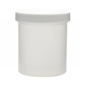 500mL PP Jar, Polyethylene Foam Lined Cap, case/24