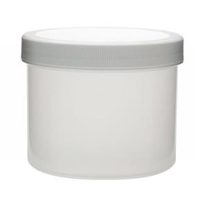1000mL PP Jar, Polyethylene Foam Lined Cap, case/24