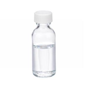 1oz Glass Bottle, Clear, PP Cap, PTFE Lined Caps, case/48