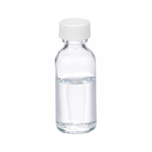 1oz Bottle, Boston Round, Type III Clear, Poly Vinyl Liner Bulk, case/432