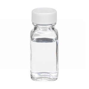 1oz Bottle, French Square, Type III Clear, Poly Vinyl Liner, case/48