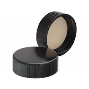 33-400 Black Phenolic Caps, 14B Rubber Liner, case/144