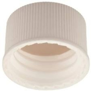 13-425 PP Caps, White, PTFE /Silicone, Liner .060, case/250
