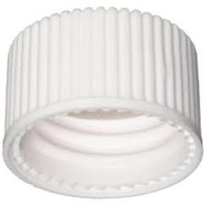 15-425 Open Top PP Caps, White, PTFE /Silicone, Liner .060, case/250