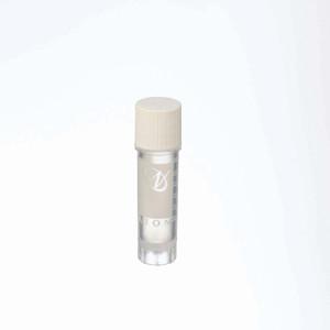 2mL Ext FS CryoElite Vials, White Cap, Label, sterile, case/500