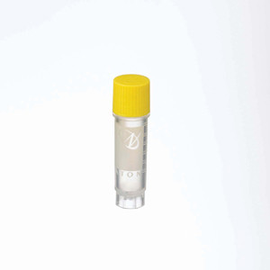 2mL Ext FS CryoElite Vials, Yellow Cap, Label, sterile, case/500