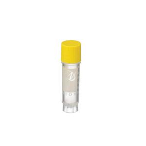 2mL Ext FS CryoElite Vials, Yellow Cap, Sterile, case/100