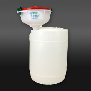 "8"" ECO Funnel System, 5 gal Drum, 70mm (FS70)"