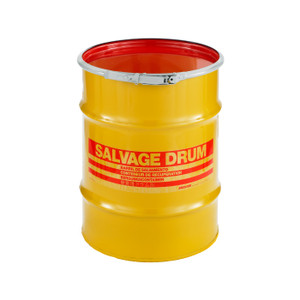 10 gal Salvage Drum, Lever lock Ring Closure