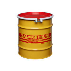 20 gal Salvage Drum, Bolt Ring Closure