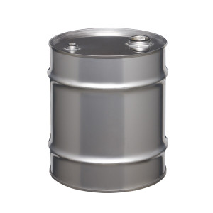 Stainless Steel Drum, 10 gallon, Tight Head