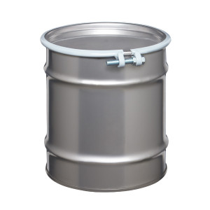 Stainless Steel Drum, 10 gallon, Open Head