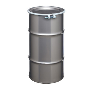 Stainless Steel Drum, 16 gallon, Open Head