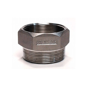 "2"" NPT Drum Funnel, Adapter, Stainless Steel, Bung ThreadGuard"