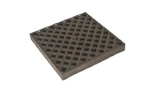"UltraTech 0423 Replacement Polyethylene Grate (24""L x 24""W x 2""H)"