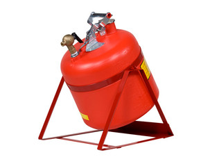 Justrite 14535 Safety Can, 5 gallon Tilt Can w/ Self-Closing faucet