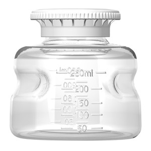 Autofil Reservoir Bottle and Cap, 250mL, Polystyrene, Sterile, case/24